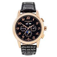 Классические мужские часы Patek Philippe Grand Complications Arabic AA Black/Gold/Black (механические)