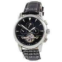 Элитные мужские часы Patek Philippe Grand Complications Tourbillon AA Silver/Black (механические)