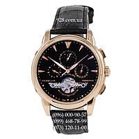 Элитные мужские часы Patek Philippe Grand Complications Tourbillon AA Gold/Black (механические)