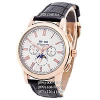 Классические мужские часы Patek Philippe Grand Complications Rome AA Black/Gold/White (механические)