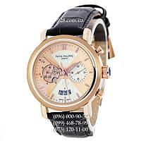 Классические мужские часы Patek Philippe NO 05-35 Black/Gold/White-Gold (механические)