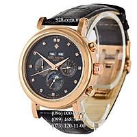 Элитные мужские часы Patek Philippe Grand Complications 5970 Black/Gold/Black (механические)