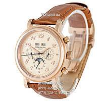 Элитные мужские часы Patek Philippe Grand Complications 5327 Brown/Gold/Gold (механические)
