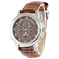 Элитные мужские часы Patek Philippe Grand Complications 5002 Sky Moon Brown/Silver/Brown (механические)