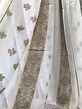 Тюль шифоновая Полоса 510 оптом, фото 2