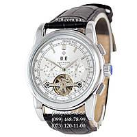 Классические мужские часы Patek Philippe Grand Complications Tourbillon Date Black/White (механические)