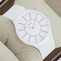 Элитные мужские часы Rado True Thinline White (кварцевые)