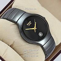 Классические женские часы Rado Jubile Crystals Black/Black-Gold (кварцевые)