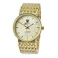 Классические мужские часы Rolex кварцевые.