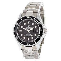 Классические мужские часы Rolex Submariner Date AA Silver/Black (механические)