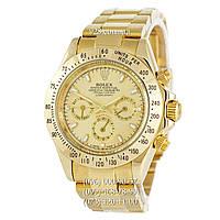 Классические мужские часы Rolex Cosmograph Daytona AAA All Gold (механические)