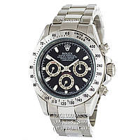 Классические мужские часы Rolex Cosmograph Daytona AAA Silver/Black (механические)