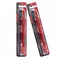 Зубные щетки «Классические» средние R.O.C.S. Red & Black Edition Classic