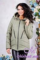 Женская осенняя демисезонная куртка (р. 44-56) арт. 1011 Тон 59