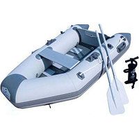 Надувная лодка с веслами, Bestway 65046 Caspian