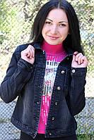 Джинсовый женский пиджак