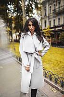 Женское элегантное кашемировое пальто