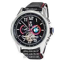 Классические мужские часы Tag Heuer Carrera BMW Power Tourbillon Black/Silver/Black-Red (механические)