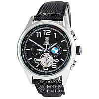 Классические мужские часы Tag Heuer Carrera BMW Power Tourbillon Black/Silver/Black (механические)