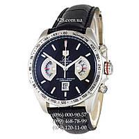 Элитные мужские часы Tag Heuer Grand Carrera Calibre17 RS2 Quartz Black/Silver (кварцевые)