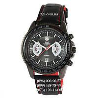 Классические мужские часы Tag Heuer Grand Carrera Calibre17 RS2 Quartz All Black (кварцевые)
