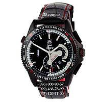 Классические мужские часы TAG Heuer Carrera 1887 SpaceX Automatic Silver/Black (механические)