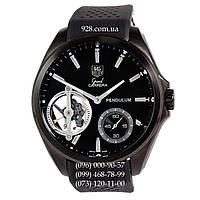 Элитные мужские часы Tag Heuer Grand Carrera Pendulum All Black (механические)