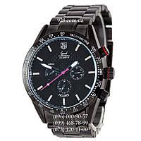 Классические мужские часы Tag Heuer Grand Carrera Calibre 38 Mechanic All Black (механические)