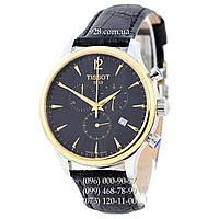 Классические мужские часы Tissot T-Classic Tradition Chronograph Black/Silver-Yellow Gold/Black (кварцевые)