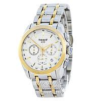 Классические мужские часы Tissot T-Classic Couturier Chronograph Steel (кварцевые)