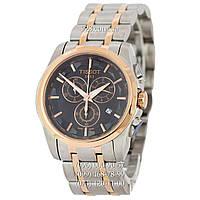 Классические мужские часы Tissot T-Classic Couturier Chronograph Steel Alt Silver-Gold-Gold-Black (кварцевые)