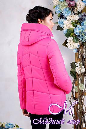 Куртка женская осенняя большого размера (р. 44-56) арт. 1011 Тон 111, фото 2