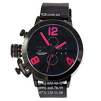 Классические мужские часы U-Boat Italo Fontana Classico Tungsteno All Black/Red (механические)