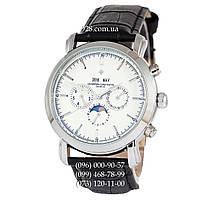 Классические мужские часы Vacheron Constantin Malte Perpetual Calendar AA Black/Silver/White (механические)