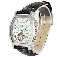 Классические мужские часы Vacheron Constantin Malte Tourbillon Black/Silver/White (механические)