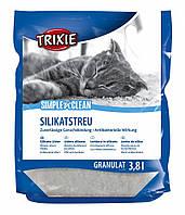 Наполнитель Trixie Simple'n'Clean Silicate Litter для кошек силикагелевый, 3.8 л