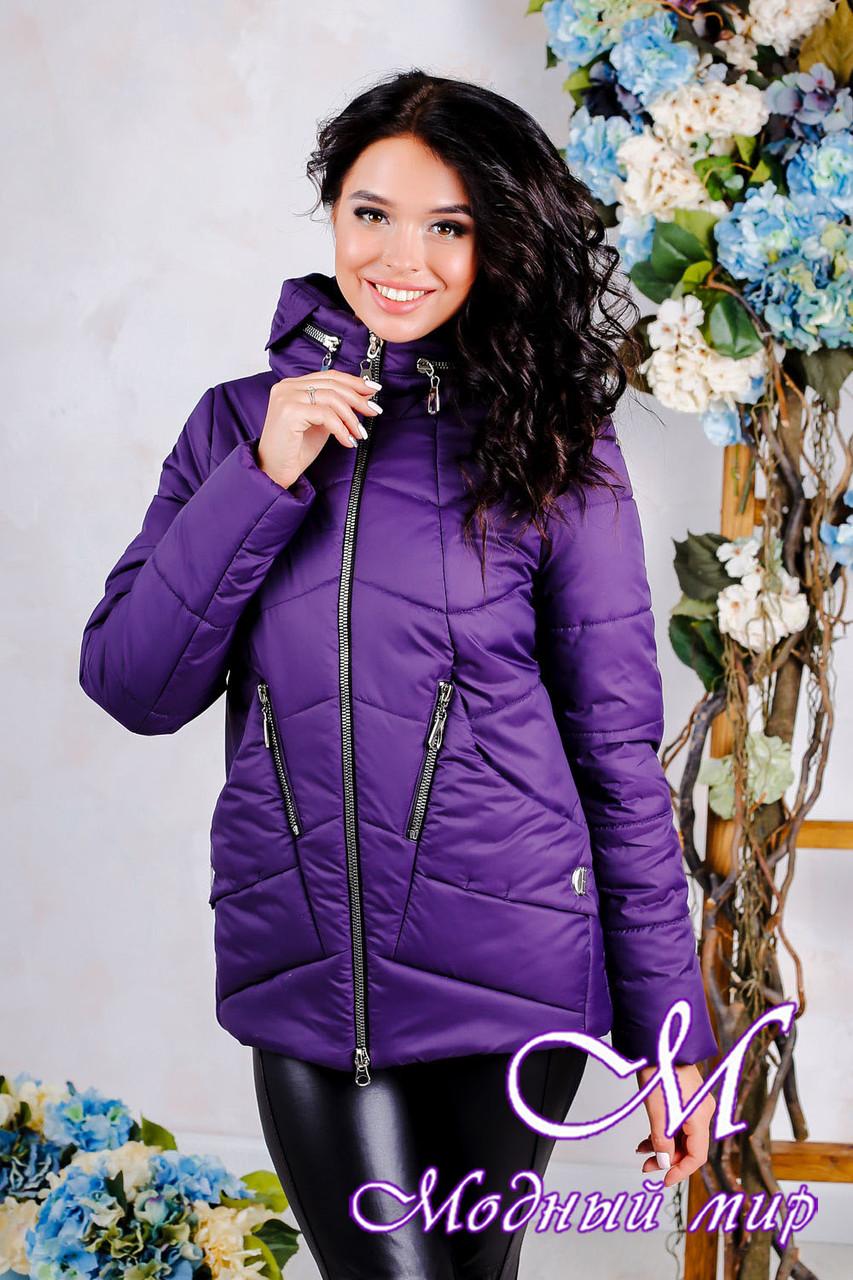 Женская демисезонная куртка большого размера (р. 44-56) арт. 1011 Тон 33