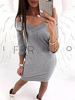 Платье женское 1707бе трикотаж