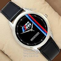 Классические мужские часы BMW M Power c Silver/Black (кварцевые)