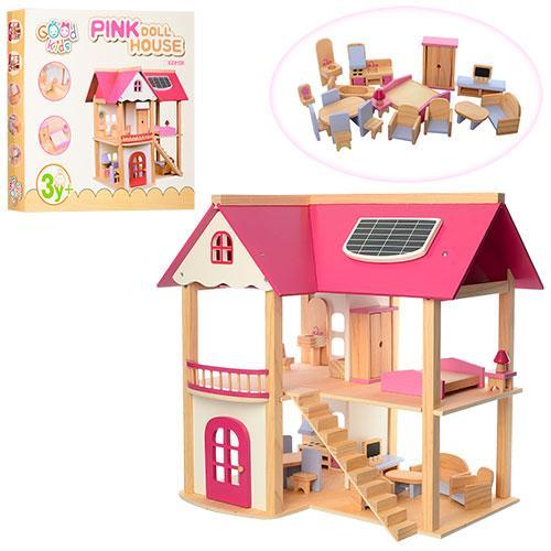 *Дерев'яний будиночок для ляльок арт. 1068 (21374)