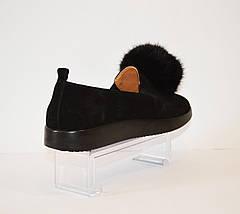 Туфли женские замшевые Kento, фото 2