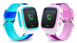 Смарт-часы Q80 1.44 для детей (голубой)