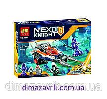 """Конструктор Bela 10592 (Аналог LegoNexo Knights 70348) """"Турнирная машина Ланса"""" 227 деталей"""
