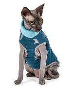 Свитер для котов и кошек Pet Fashion БРЮС S, Длина спины: 27-31, обхват груди: 32-38