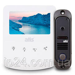 ATIS AD-430W Kit box бюджетный комплект видеодомофона