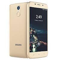 Смартфон Uhans A6 цвет золотой (экран 5,5'; памяти 2/16G; емкость батареи 4150 мАч)