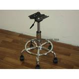 Крестовины металлические хромированные алюминиевые для офисных парикмахерских кресел стульев, фото 4