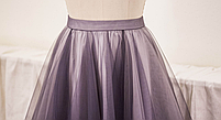 Юбка  из евро сетки - два цвета. Любой размер и цвет., фото 2