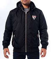 Куртка ветровка, черная