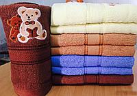 Пушистое красивое полотенце